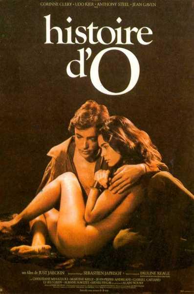 Fransk plakat fra filmen O's Historie
